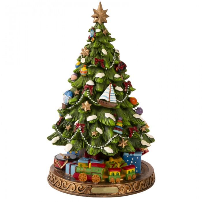Купить Новогодние украшения, Феникс Презент Декоративная фигурка Елка с подарками