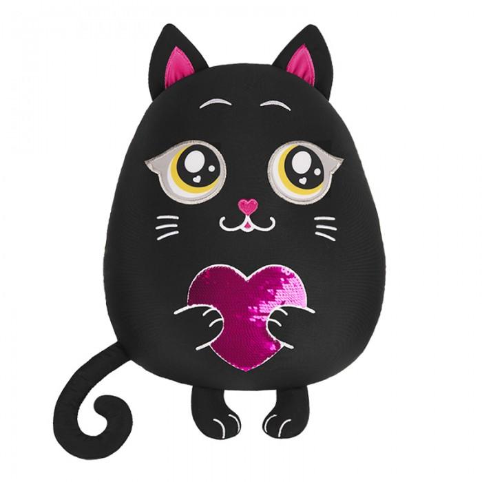 Купить Подушки для малыша, Maxitoys Подушка аntistress Кот с сердцем 35 см