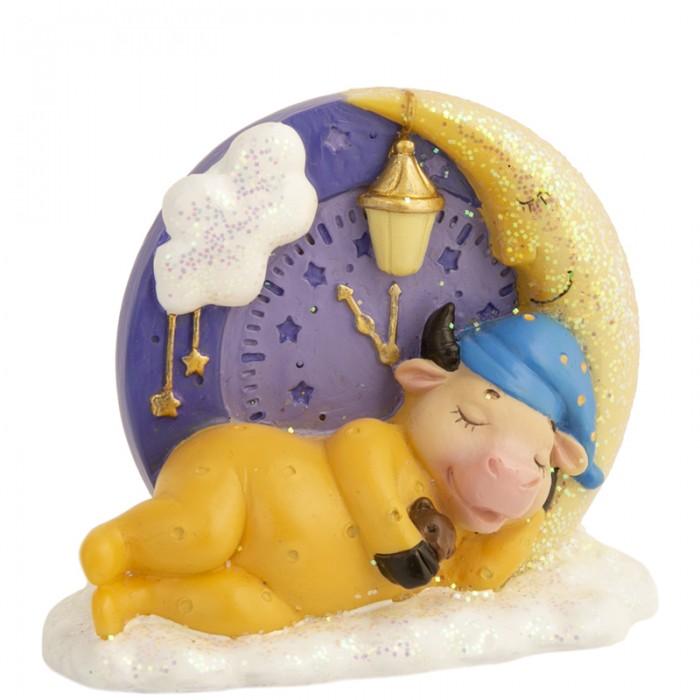 Новогодние украшения Феникс Презент Декоративная фигурка Спящая коровка