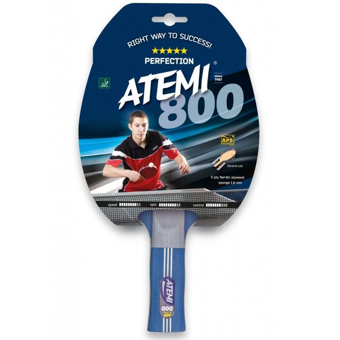 Фото - Спортивный инвентарь Atemi Ракетка для настольного тенниса 800 AN спортивный инвентарь torneo ракетка для настольного тенниса tour