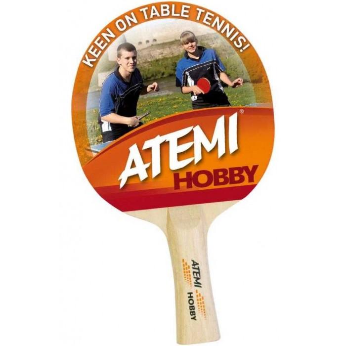 Фото - Спортивный инвентарь Atemi Ракетка для настольного тенниса Hobby спортивный инвентарь torneo ракетка для настольного тенниса tour