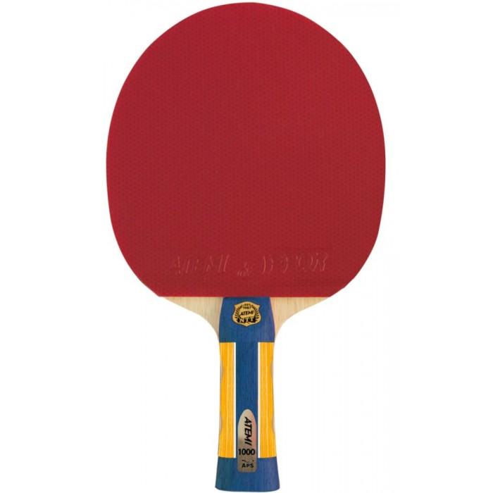 Фото - Спортивный инвентарь Atemi Pro Ракетка для настольного тенниса 1000 CV спортивный инвентарь torneo ракетка для настольного тенниса tour