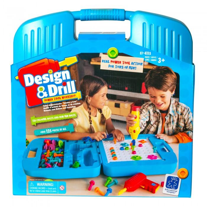 Картинка для Learning Resources Игровой набор Закручивай и учись Большой чемоданчик (125 элементов)