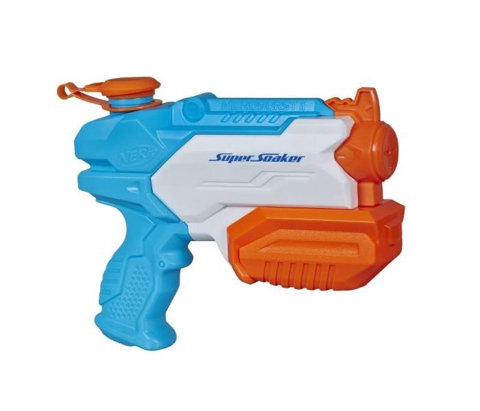 Игрушечное оружие Nerf Hasbro Бластер Супер Сокер Микробёрст 2 оружие игрушечное hasbro nerf бластер зомби слингфайр