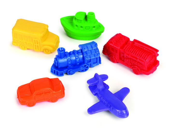 Игровые фигурки Learning Resources Игровой набор фигурок Транспорт (72 элемента)