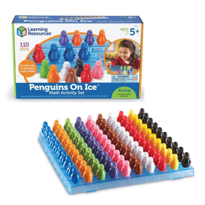 Купить Игровые наборы, Learning Resources Игровой набор Пингвины на льдине (110 элементов)