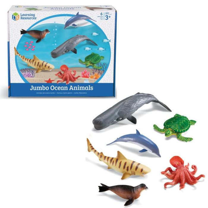 Фото - Игровые фигурки Learning Resources Игровой набор Обитатели океана (6 элементов) ролевые игры dolu кухонный набор с закрытой тележкой 18 элементов