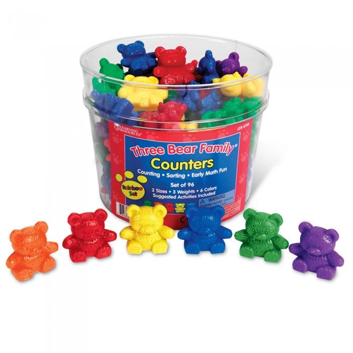 Игровые фигурки Learning Resources Игровой набор фигурок Семейка медведей (96 элементов)