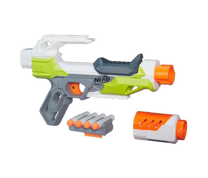 Игрушечное оружие Nerf Hasbro Бластер Модулус АйонФайр hasbro бластер зомби страйк двойная атака nerf