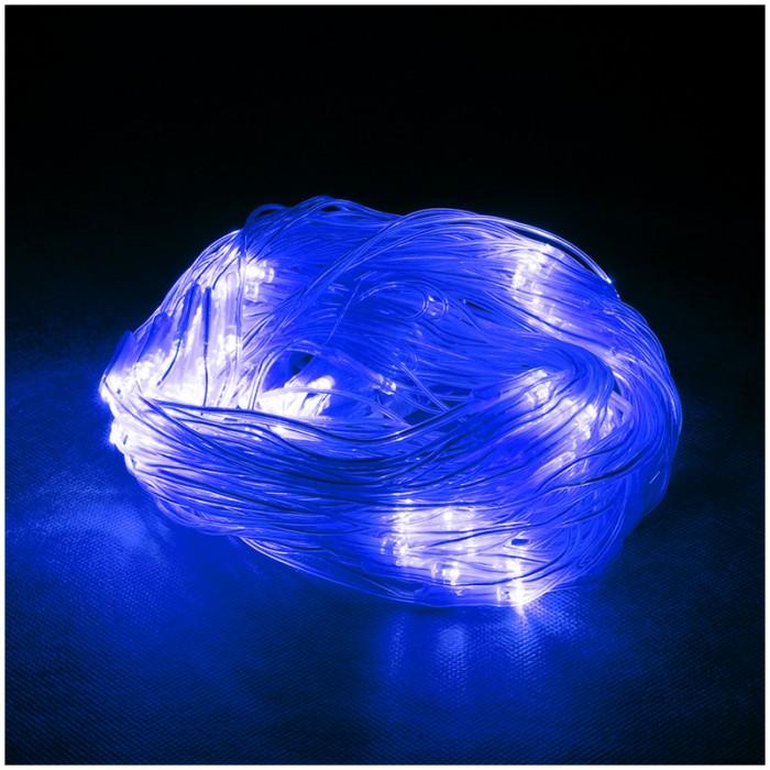 Фото - Новогодние украшения Vegas Электрогирлянда-конструктор светодиодная Сеть 144 лампы 1.2х1.5 м light светодиодная сеть белая 2x2 прозрачный провод