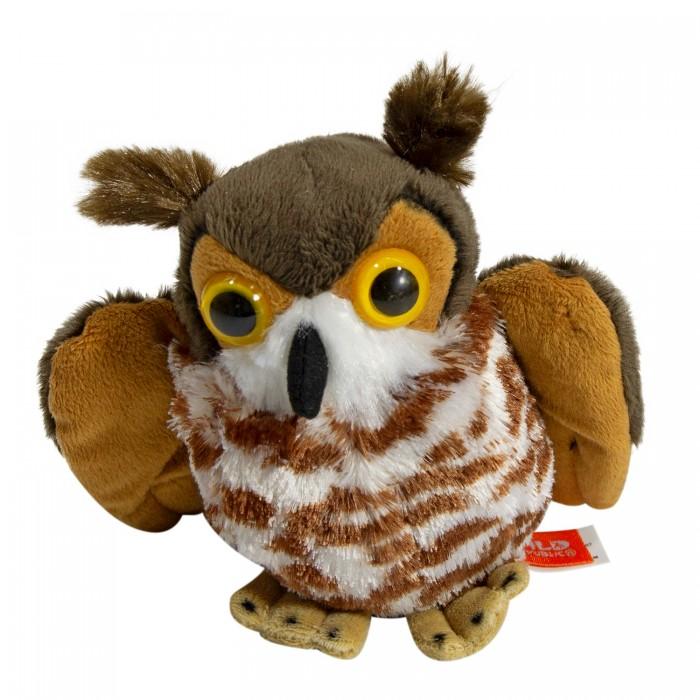 Купить Мягкие игрушки, Мягкая игрушка Wild Republic Филинн 22 см