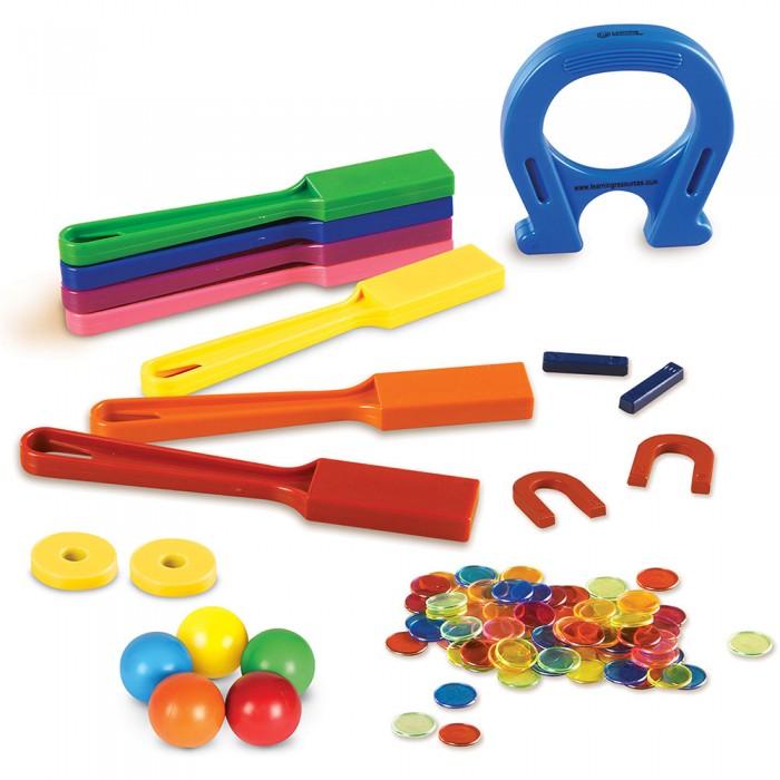 Развивающие игрушки Learning Resources Моя первая лаборатория Магнитный супер сет (119 элементов)