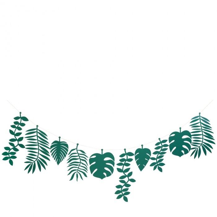 Фото - Товары для праздника MeriMeri Гирлянда Тропики большая 2.4 м товары для праздника merimeri гирлянда кисточки