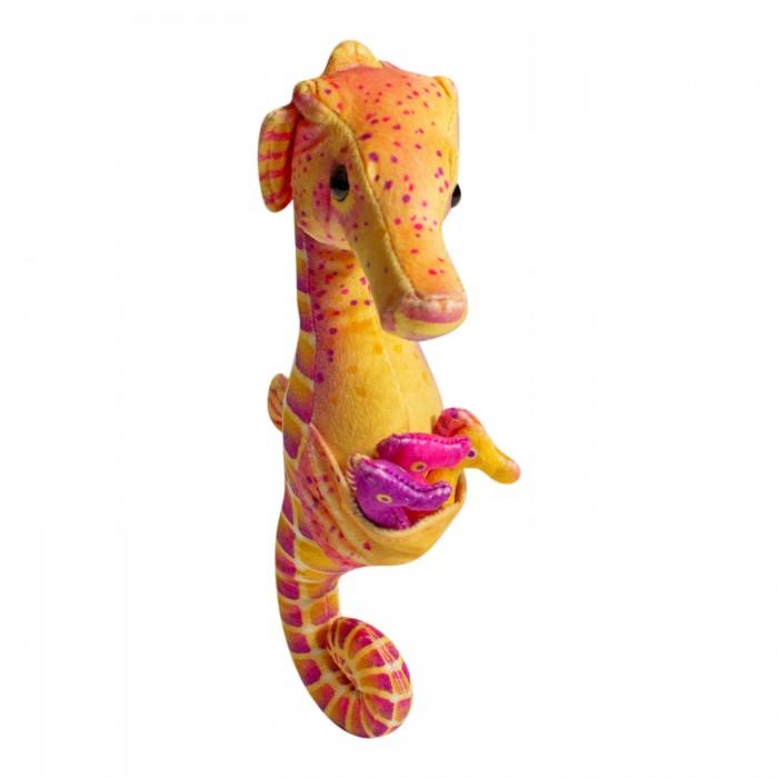Купить Мягкие игрушки, Мягкая игрушка Wild Republic Морской конек с детенышами 30 см