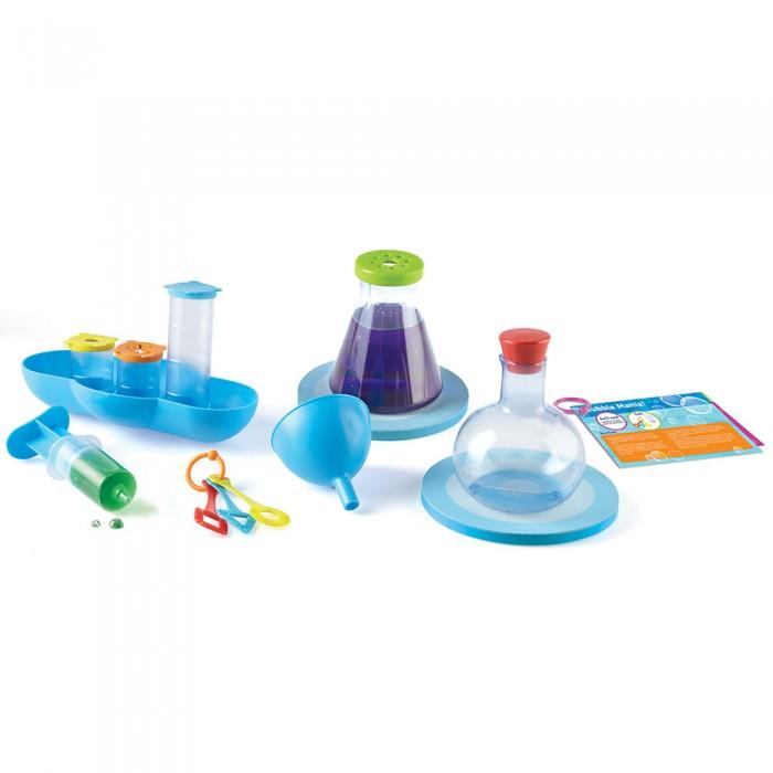 Наборы для опытов и экспериментов Learning Resources Игровой набор Моя первая лаборатория Аквалогия (19 элементов)