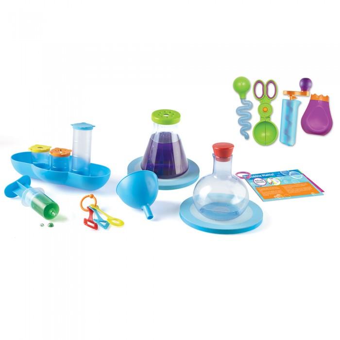 Наборы для опытов и экспериментов Learning Resources Игровой набор Моя первая лаборатория Аквалогия Делюкс (23 элемента)
