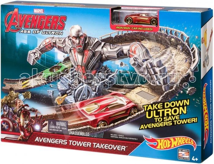 Игровые наборы Hot Wheels Набор Серия Marvel Делюкс CDD27, Игровые наборы - артикул:102211