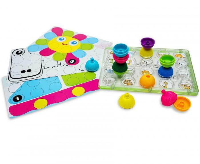 Развивающая игрушка Lalaboom Доска и 20 деталей