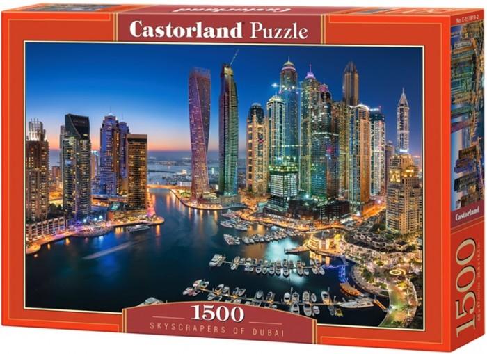 Купить Пазлы, Castorland Пазл Небоскребы Дубая (1500 элементов)