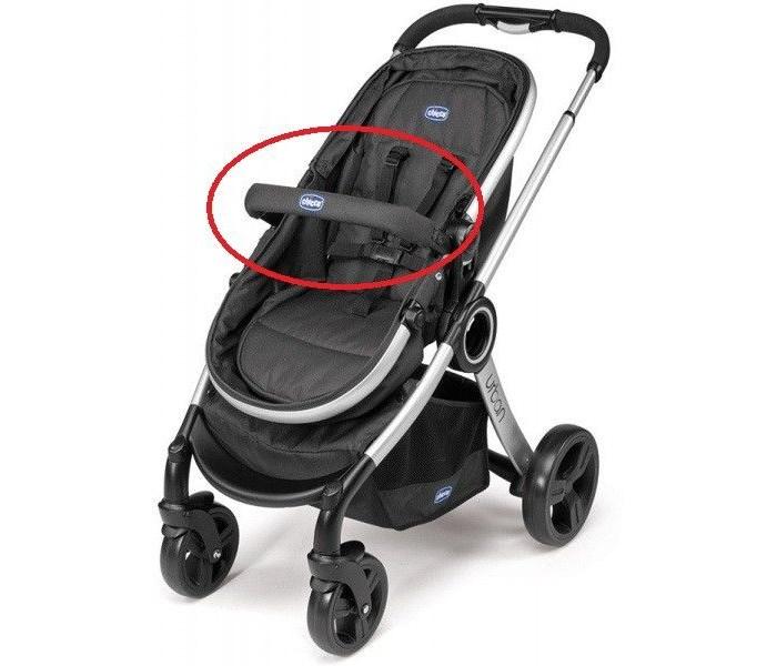 Аксессуары для колясок Chicco Бампер для коляски Urban коляски трансформеры chicco urban plus crossover