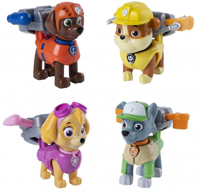 Купить Игровые фигурки, Щенячий патруль (Paw Patrol) фигурка одного из героев (Роки, Зума, Скай, Крепыш)