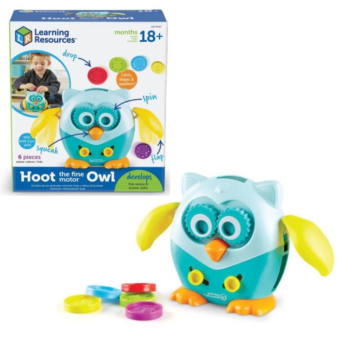 Развивающая игрушка Learning Resources Совушка (6 элементов)