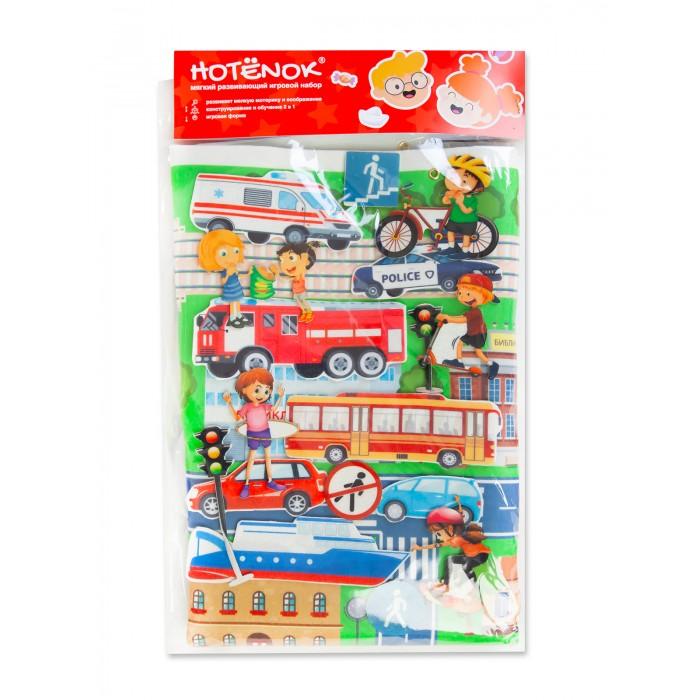 Развивающая игрушка Hotenok Мягкая сюжетная игра Прогулка по городу