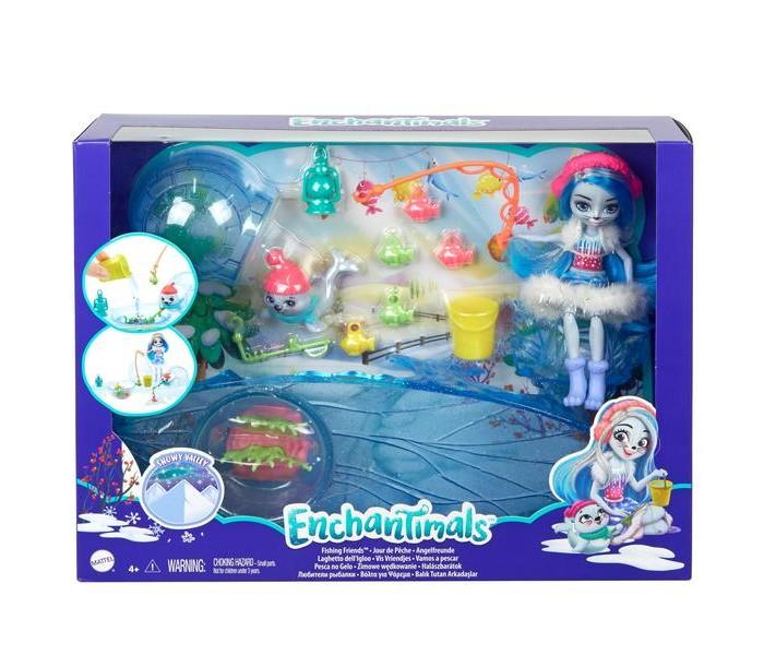 Купить Игровые наборы, Enchantimals Игровой набор Рыбалка на льду