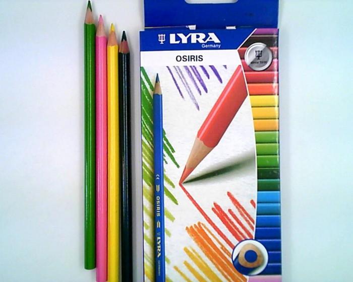 Карандаши, восковые мелки, пастель Lyra Osiris Aquarell цветные акварельные 12 цветов цветные карандаши bic kids evolution 12 цветов