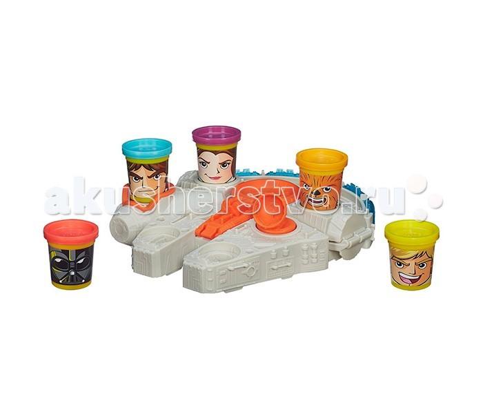 Всё для лепки Play-Doh Hasbro Игровой набор Тысячелетний Сокол hasbro play doh b5517 игровой набор из 4 баночек в ассортименте обновлённый