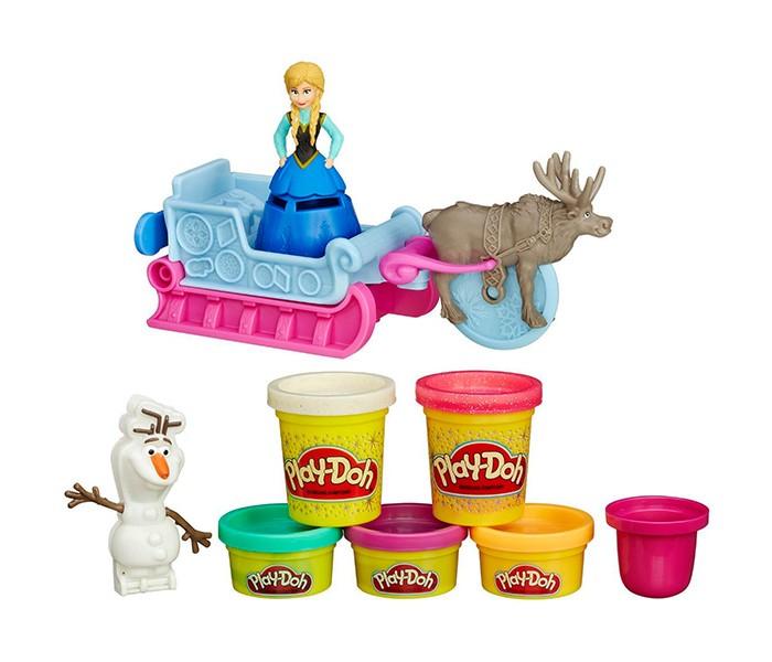 Всё для лепки Play-Doh Hasbro Игровой набор Холодное Сердце всё для лепки fun dough набор пластилина 4 банки 1 бонус