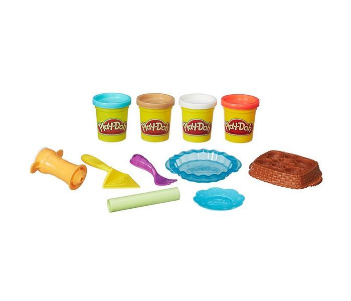 Всё для лепки Play-Doh Hasbro Игровой набор Ягодные тарталетки hasbro play doh b5517 игровой набор из 4 баночек в ассортименте обновлённый