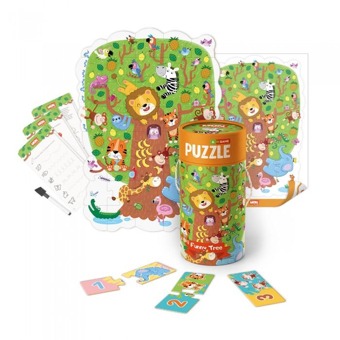 Mon Игровой набор Волшебное дерево: пазлы и карточки с заданиями
