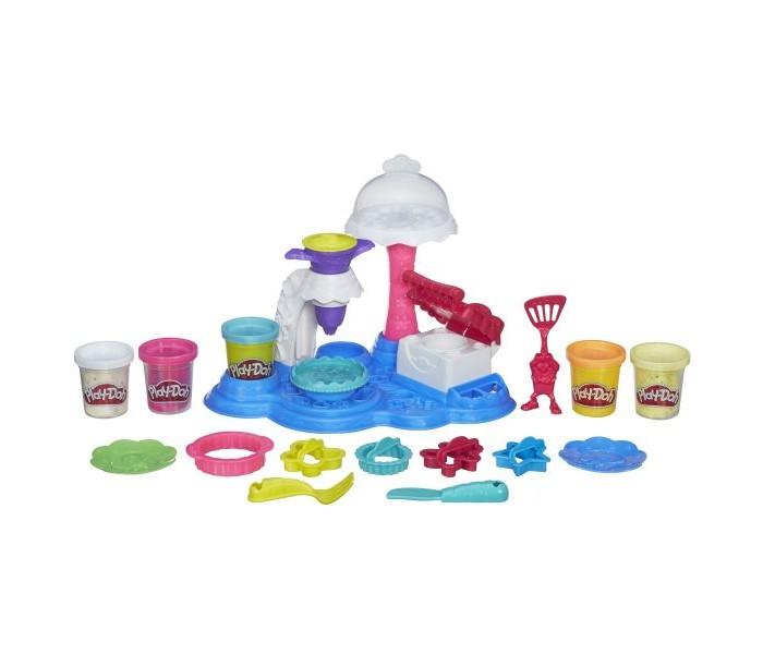 Всё для лепки Play-Doh Hasbro Игровой набор Сладкая вечеринка всё для лепки lori пластилин классика 16 цветов