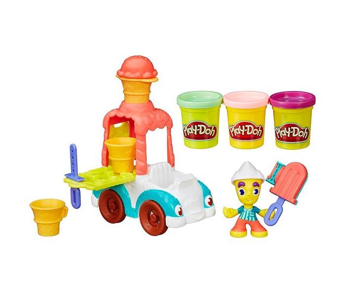 Всё для лепки Play-Doh Город Игровой набор Грузовичок с мороженым hasbro play doh игровой набор из 3 цветов цвета в ассортименте с 2 лет