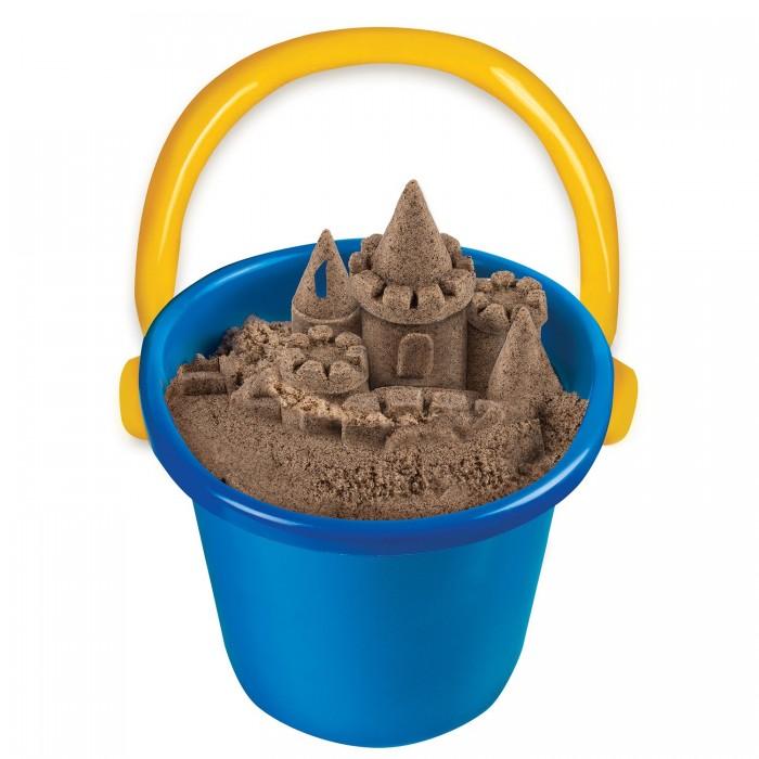 Кинетический песок Kinetic Sand Набор для лепки Кинетический песок Пляжный 1.3 кг кинетический песок lori набор для лепки радужный песок 6 цветов