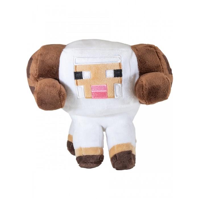 Картинка для Мягкие игрушки Minecraft Earth Happy Explorer Horned Sheep Овца 15 см