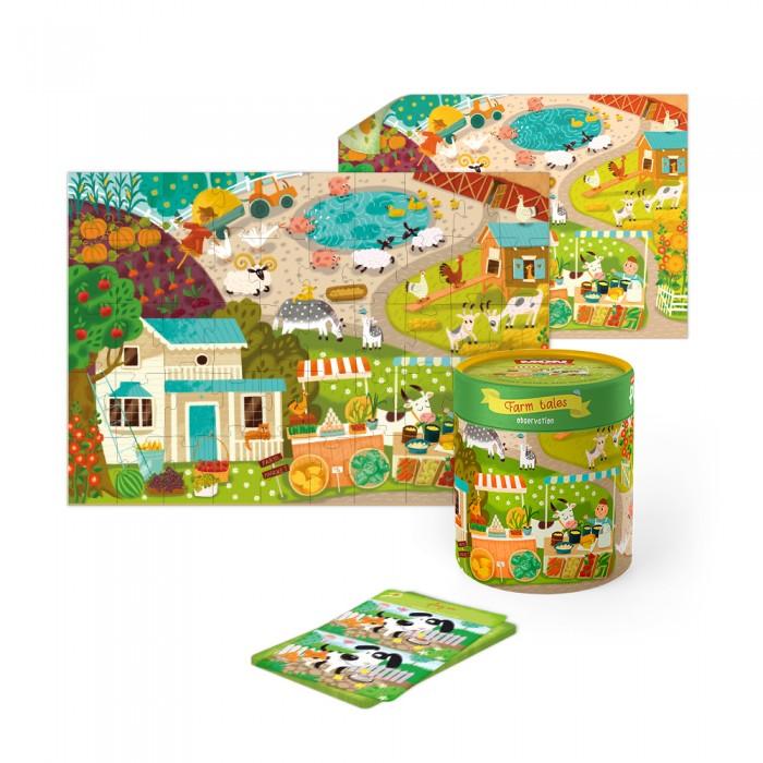 Mon Игровой набор Как животные времена года встречали: пазлы и карточки с заданиями