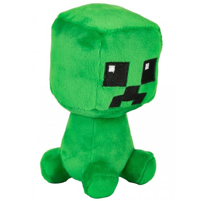 Мягкая игрушка Minecraft Dungeons Mini Crafter Creeper Крипер 12 см