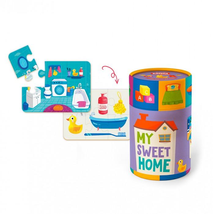 Mon Игровой набор Мой дом: пазлы и карточки с заданиями