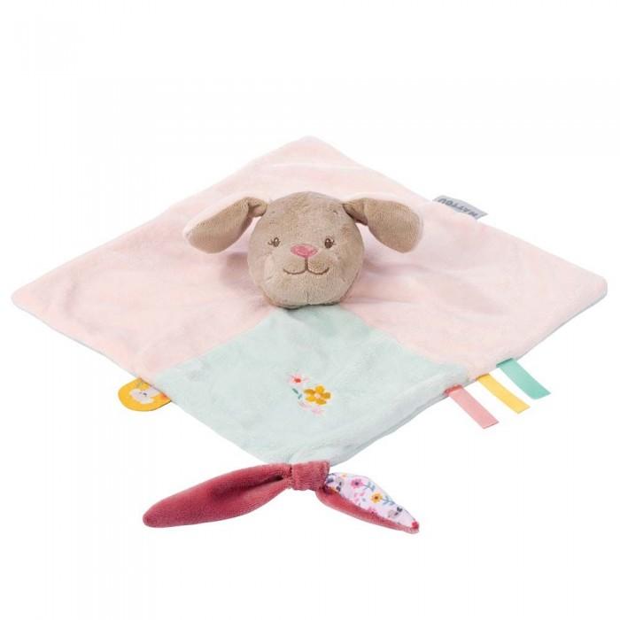 Мягкие игрушки Nattou Doudou Iris & Lali Собачка мягкие игрушки nattou doudou малая iris