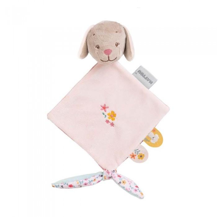 Мягкие игрушки Nattou Doudou малая Iris & Lali Собачка мягкие игрушки nattou doudou малая iris