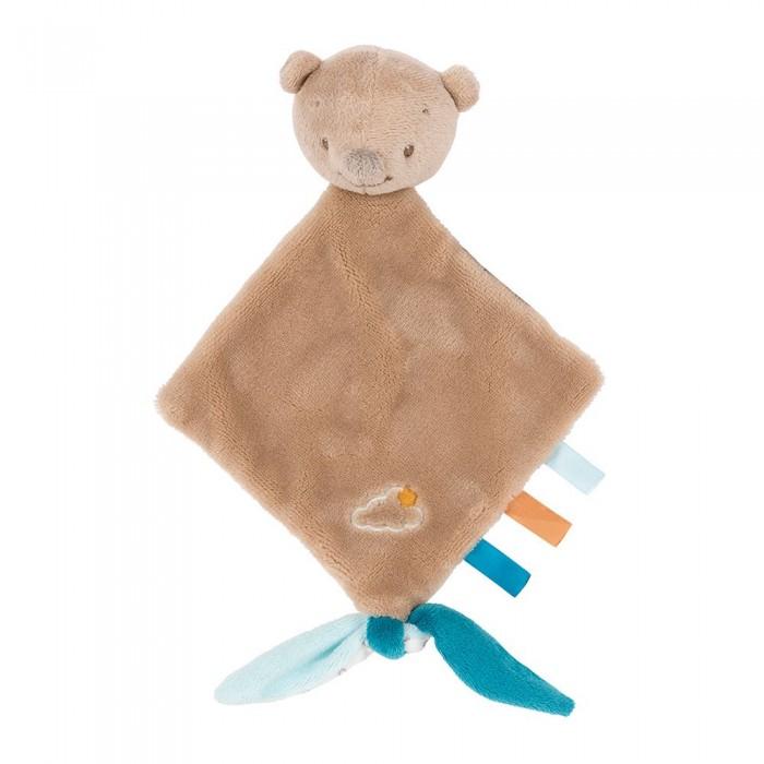 Мягкие игрушки Nattou Doudou малая Mia & Basile Мишка аксессуары для автомобиля nattou подголовник mia
