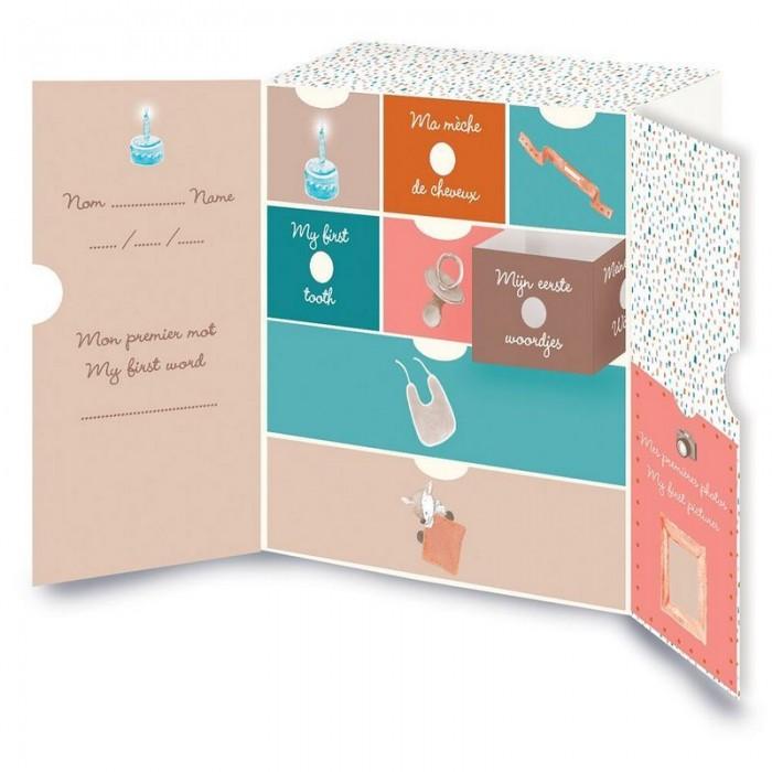 Nattou Коробка Mia & Basile Кролик и Мишка для сокровищ