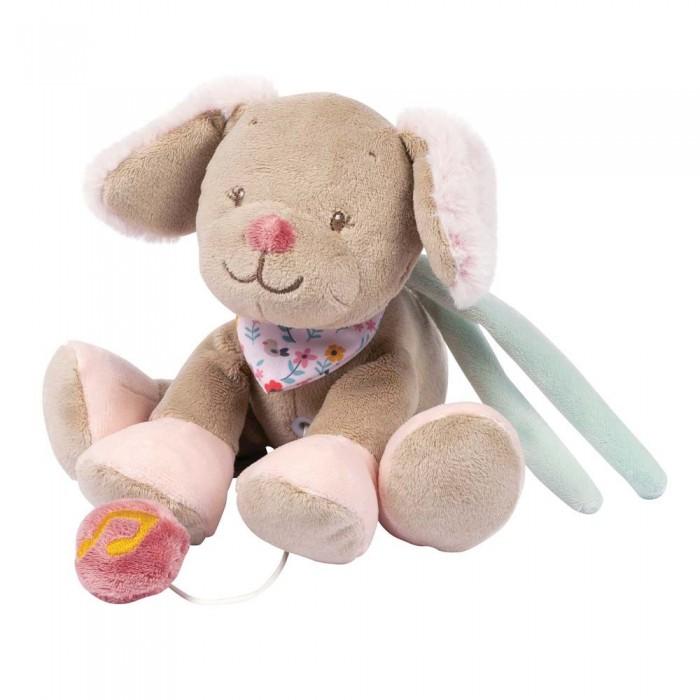 Мягкие игрушки Nattou Mini Iris & Lali Собачка музыкальная