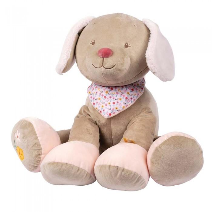 Купить Мягкие игрушки, Мягкая игрушка Nattou Iris & Lali Собачка 75 см