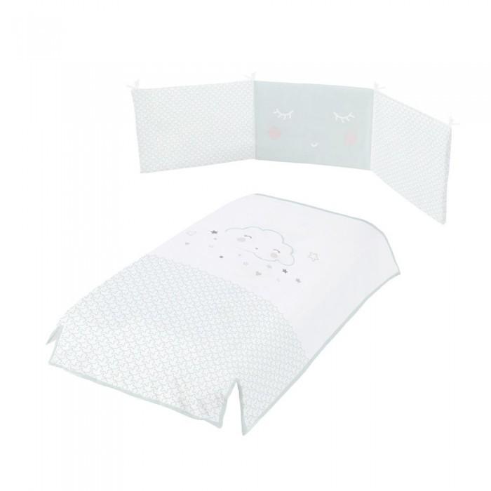 Комплекты в кроватку Micuna Покрывало и бортики Lili 120x60 детские кроватки micuna bunny plus 120x60