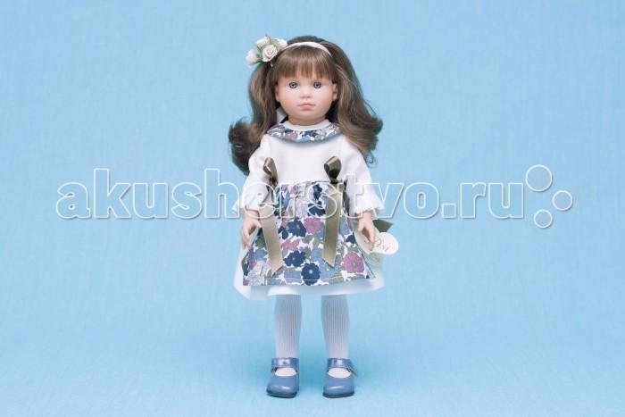 ASI Кукла Нелли 43 см 253130Кукла Нелли 43 см 253130Кукла, размер 43 см, выполнена из винила, длинные темные волосы, в белом платье с цветным передником, в красивой подарочной коробке.<br>