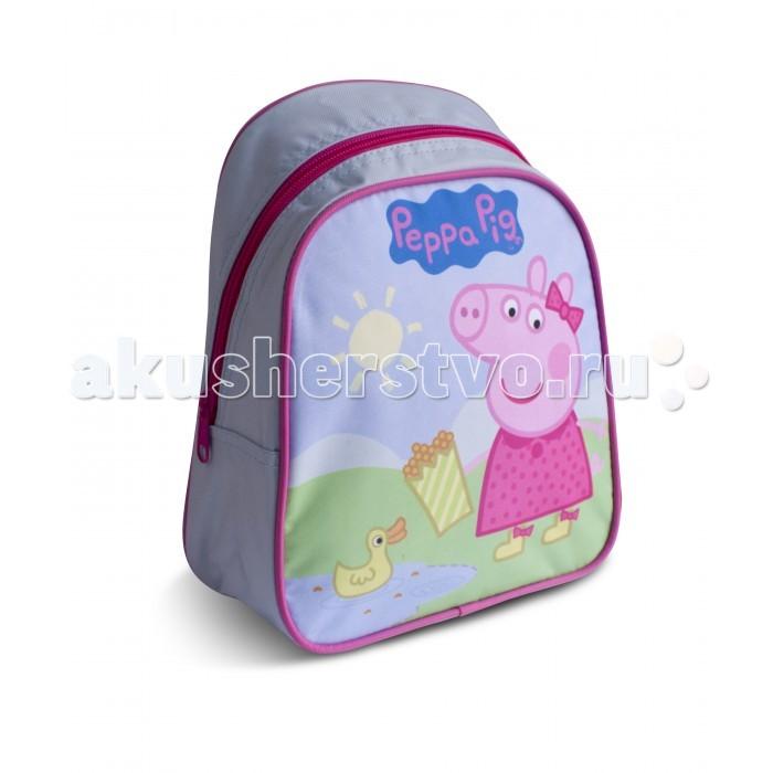 Сумки для детей Свинка Пеппа (Peppa Pig) Рюкзачок малый Утка сумки для детей свинка пеппа peppa pig рюкзачок малый