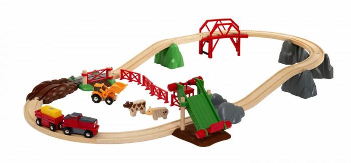 Фото - Железные дороги Brio Игровой набор Сельское поселение playmobil игровой набор фермер с домашними животными